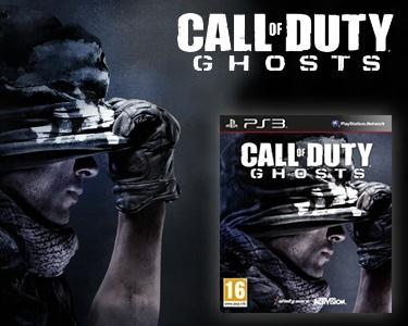 Jogo Call of Duty - Ghosts para PS3