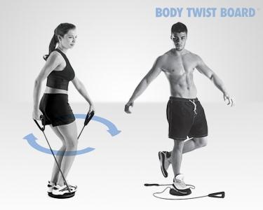 Plataforma Giratória Body Twist | Exercite todo o Corpo!