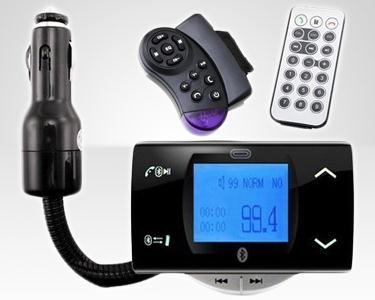 Kit Mãos Livres Bluetooth com MP3 e Acessórios