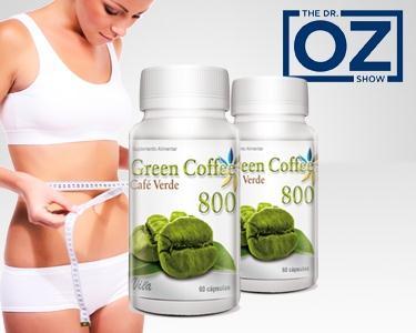 1 ou 2 frascos Green Coffee | Recomendado pelo Dr.Oz