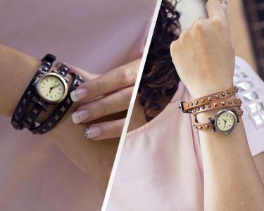 Relógio Studio Design | Castanho ou Preto
