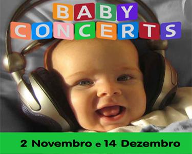 As sessões de Baby Concerts voltam ainda mais especiais!