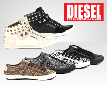 DIESEL® Footwear para Elas - Only for the Brave!