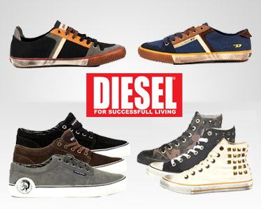 Diesel® Footwear para Eles | Only for the brave!