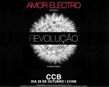 «Amor Electro» Apresenta o 2ºÁlbum no CCB | Estreia Absoluta