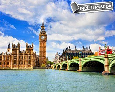 Páscoa em Londres | 2 ou 3 Noites com Sightseeing e Cruzeiro no Tamisa