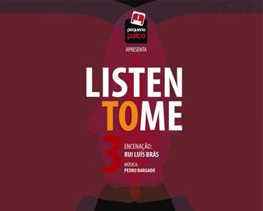 «Listen To Me III» ao Vivo no Turim   Confissões Contemporâneas