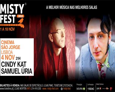 Misty Fest 2013 a Dois | Assista às revelações Cindy Kat&Samuel Úria