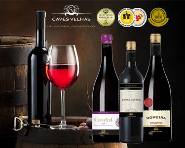 Vinhos Caves Velhas | Escolha Serradayres, Catedral ou Romeira