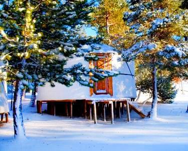 Noite em Yurt | Vale do Rossim Eco Resort | Serra da Estrela