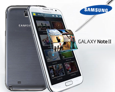 Samsung GALAXY Note II 4G - Branco ou Cinzento