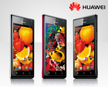 Smartphone Huawei Ascend P1 - Branco ou Preto