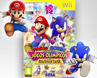 Mario & Sonic Nos Jogos Olímpicos Londres 2012 | Nintendo DS3 ou Wii