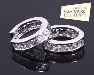 Brincos com Swarovski Elements®