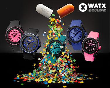 Relógio Watx&Colors® | Cor e Atitude