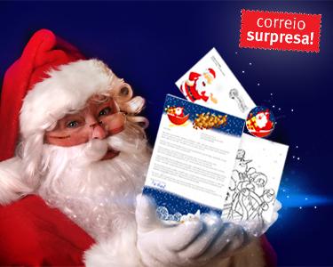 Carta do Pai Natal Personalizada | Correio Surpresa