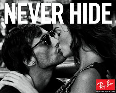 Ray-Ban® Aviator | Never Hide!