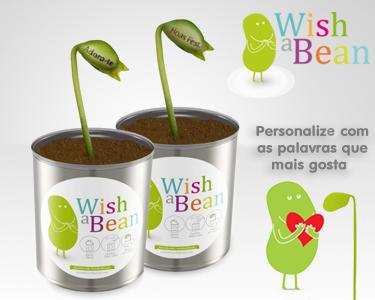 Wish a Bean | Feijões Mágicos com Mensagem Personalizada