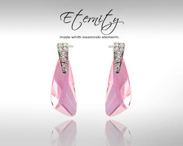 Baixa de Preço | Brincos Eternity Swarovski Elements®