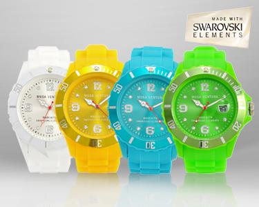 Relógio Swarovski Elements®