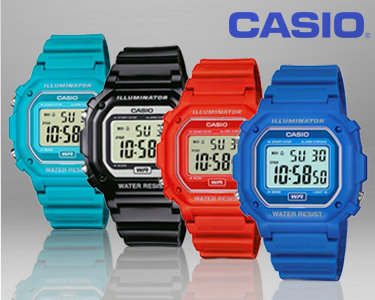 Relógio Casio® Illuminator | Escolha a sua cor