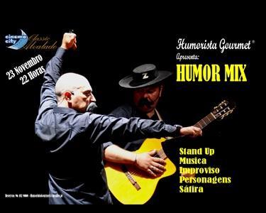 Humorista Gourmet é: «Humor Mix – Humor e Comédia Gourmet»