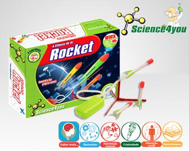 Jogo Científico Science4you | A Ciência do Ar - Rocket