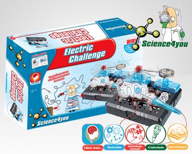 Jogo Científico Science4you | Electric Challenge