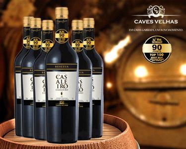 Caixa de 6 Garrafas de Vinho Tinto Casaleiro Reserva 2012 | Best Buy