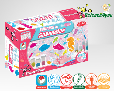 Jogo Científico Science4you | Fábrica de Sabonetes