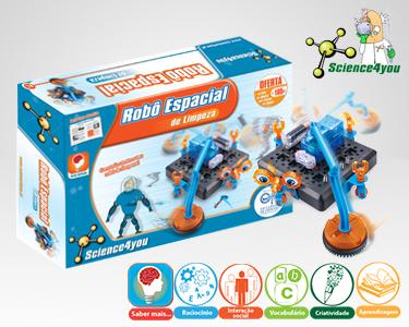 Jogo Científico Science4You   Robô Espacial de Limpeza