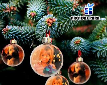 3 Bolas de Natal Personalizadas com as Suas Fotos