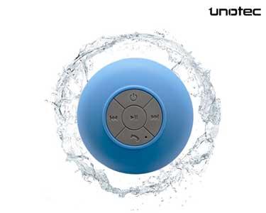 Coluna Bluetooth à Prova de Água | Azul