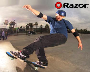 Skate Ripster Air Blue | Feber®