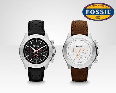 Relógio Fossil® | Bracelete em pele