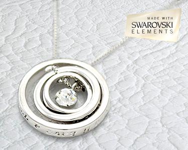 Preço Louco | Fio Galaxy Swarovski Elements® Banhado a Ouro Branco 18K