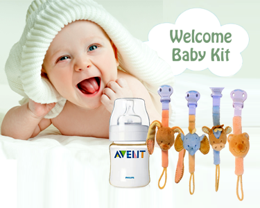 Welcome Baby Kit | Philips Avent® & Nattou®