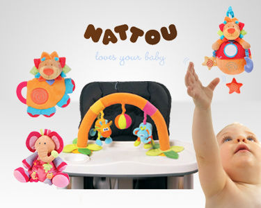Brinquedos Nattou®  | Para a alegria do seu bebé