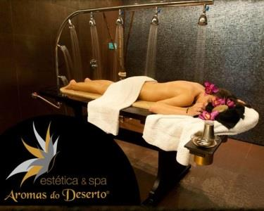 Duche Vichy & Massagem Relaxante c/ Ritual Chá   1h