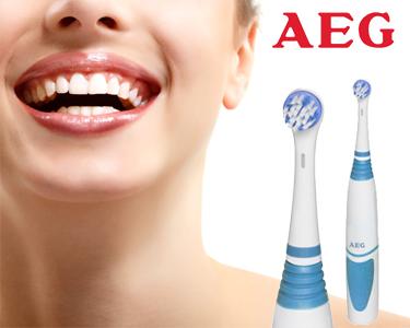 2 Escovas de Dentes Eléctricas - AEG EZ 5500