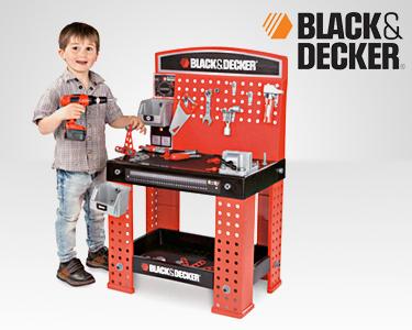 Mesa de Ferramentas Black & Decker® | Brincar ao Faz de Conta