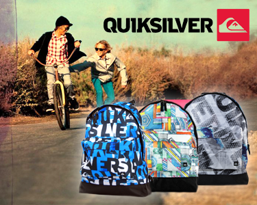 Mochilas Originais Quiksilver® Basic | Original Thinking