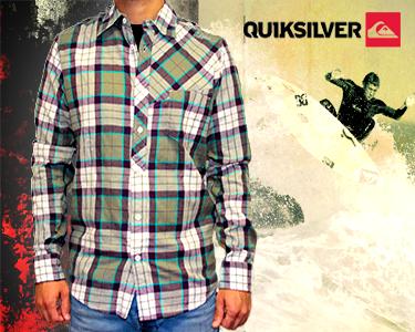Camisas Quiksilver® Homem e Criança | Stock Limitado!