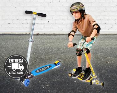 Trotinete Scooter 4 Rodas | Miúdos & Graúdos