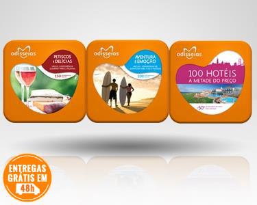 3 Presentes: Gourmet + Aventura + 100 Hotéis