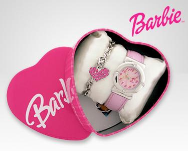 Relógio e Pulseira Barbie® Collection