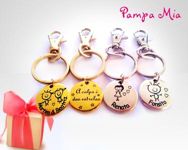 Porta-Chaves Personalizados | Pampa Mia