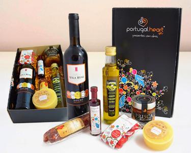 Cabaz Portugal Heart com 7 Produtos Únicos | Natal Português