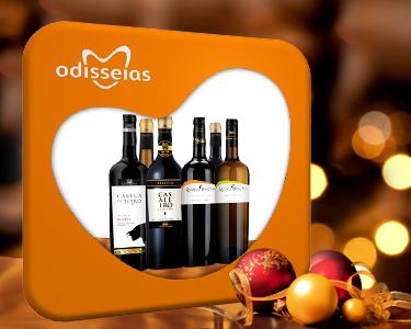 Gift Wine Box   6 Garrafas de Vinho Premiado para Oferta