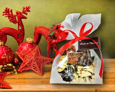 O presente Ideal deste Natal! Bombons de Chocolate Artesanais
